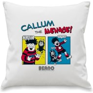 Personalised Beano Classic Comic Strip Water Pistol Cushion Cover