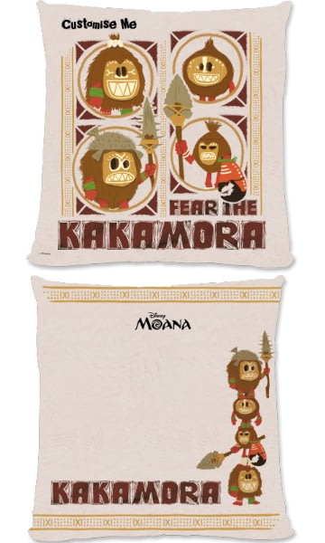 picture regarding Kakamora Printable titled Individualized Disney Moana Fret The Kakamora Cushion - 45x45cm