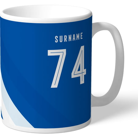 Personalised Queens Park Rangers FC Stripe Mug