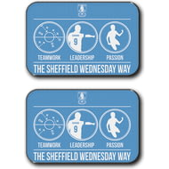 Personalised Sheffield Wednesday FC Way Rear Car Mats
