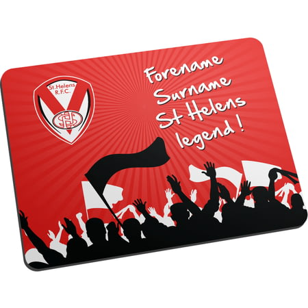 Personalised St Helens Legend Mouse Mat