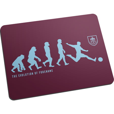 Personalised Burnley FC Evolution Mouse Mat