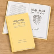Personalised Leeds United On This Day Football History Book