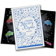 Personalised Modern Nursery Rhymes Embossed Classic Hardcover