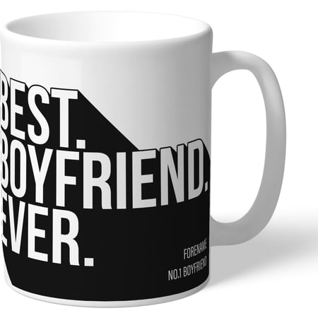 Personalised Newcastle United Best Boyfriend Ever Mug