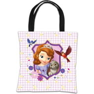 Personalised Disney Sofia The First Sofia And Clover Tote Bag