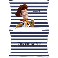 Personalised Toy Story Woody Rectangle Cushion - 45x30cm