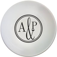 Personalised Monogram Circle Bowl