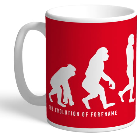 Personalised Nottingham Forest FC Evolution Mug