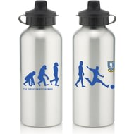 Personalised Sheffield Wednesday Player Evolution Aluminium Sports Water Bottle