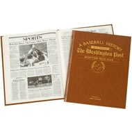 Personalised Boston Red Sox Baseball Newspaper Book