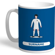 Personalised Leeds United FC Player Figure Mug