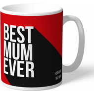 Personalised Manchester United Best Mum Ever Mug