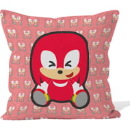 Personalised Emoji Knuckles - Modern Sonic - Cushion 45x45cm