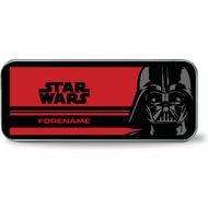 Personalised Star Wars Darth Vader Pop Art Silver Pencil Tin