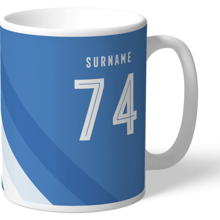 Personalised Sheffield Wednesday Stripe Mug