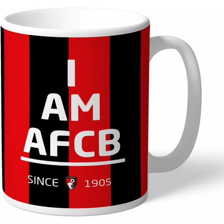 Personalised AFC Bournemouth I Am Mug