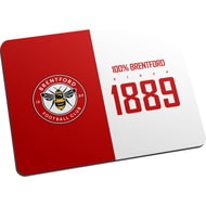 Personalised Brentford FC 100 Percent Mouse Mat