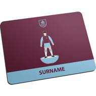 Personalised Burnley FC Player Figure Mouse Mat