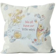 Personalised Winnie The Pooh We All Have Our Little Ways Cushion - 45x45cm