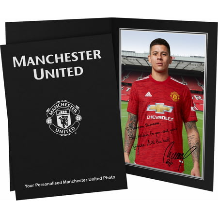 Personalised Manchester United FC Rojo Autograph Photo Folder