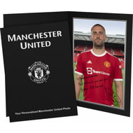 Personalised Manchester United FC Shaw Autograph Photo Folder