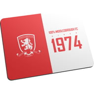 Personalised Middlesbrough FC 100 Percent Mouse Mat