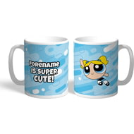 Personalised Powerpuff Girls Bubbles Pattern Mug