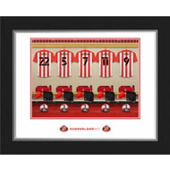 Personalised Sunderland AFC Dressing Room Shirts Photo Folder