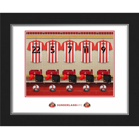 Personalised Sunderland AFC Dressing Room Photo Folder