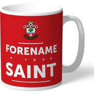 Personalised Southampton FC True Saint Mug