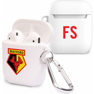 Personalised Watford FC Initials Airpod Case
