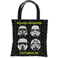 "Personalised Star Wars Rogue One ""Defend The Empire"" Tote Bag"