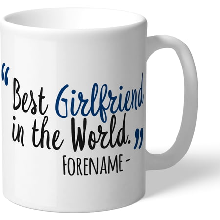 Personalised Bolton Wanderers Best Girlfriend In The World Mug