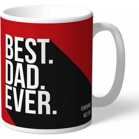 Personalised AFC Bournemouth Best Dad Ever Mug