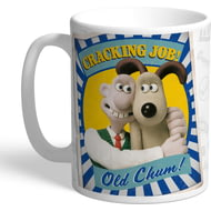 Personalised Wallace And Gromit Old Chum Mug