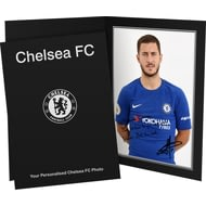 Personalised Chelsea FC Hazard Autograph Photo Folder