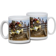 Personalised Quad Bike Ceramic Mug