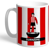 Personalised Brentford Player Figure Mug