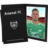 Personalised Arsenal FC Leno autograph Photo Folder