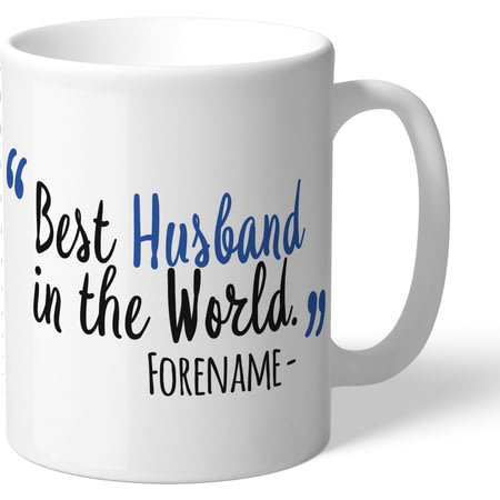 Personalised Sheffield Wednesday Best Husband In The World Mug