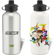 Personalised Ben 10 Group Alumnium Water Bottle