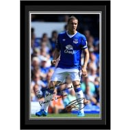 Personalised Everton FC Jagielka Autograph Photo Framed