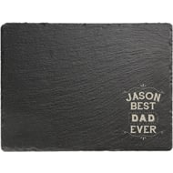 Personalised Best Ever Large Rectangle Slate Board