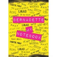 Personalised NOT BOVVERED! Notebook
