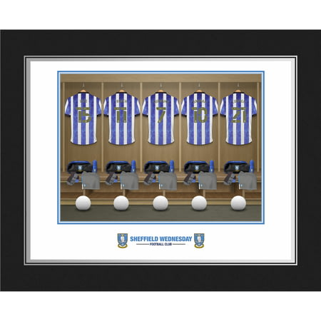 Personalised Sheffield Wednesday FC Dressing Room Shirts Photo Folder