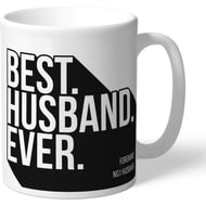 Personalised Swansea City Best Husband Ever Mug