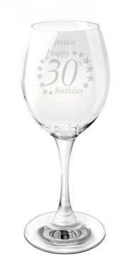 Buy Your Personalised Birthday Age Wine Glass From Go Find Jpg 186x390 Glasses