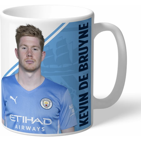 Personalised Manchester City FC De Bruyne Autograph Mug