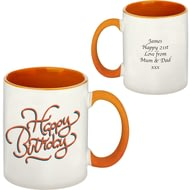 Personalised Happy Birthday Mug